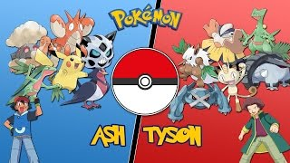 Ash Vs Tyson (Hoenn League) - |Pokemon Battle Revolution| Let