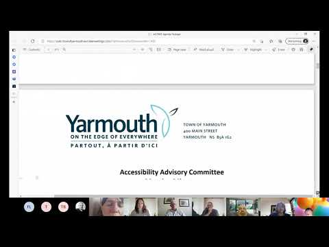 Accessibility Advisory Committee Meeting - June 07, 2021