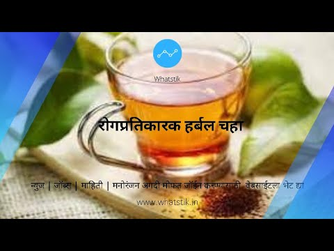 रोगप्रतिकारक हर्बल चहा Herbal Tea