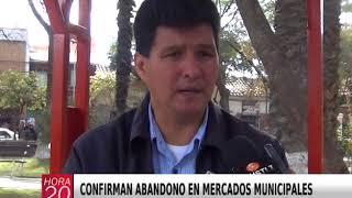 CONFIRMAN ABANDONO EN MERCADOS MUNICIPALES