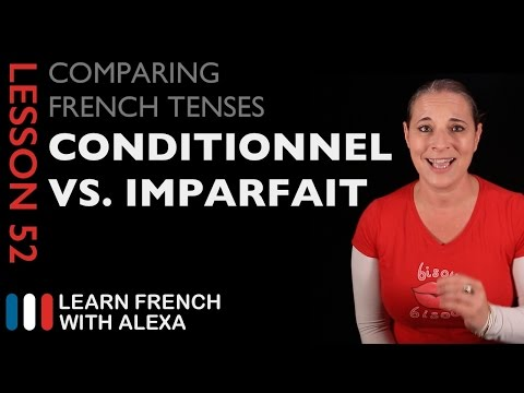 To use in french conditional