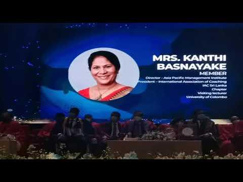 Download Asia Pacific Management Institute Sri Lanka- Director Kanthi Basnayake Winning Note of WOMEN ICON