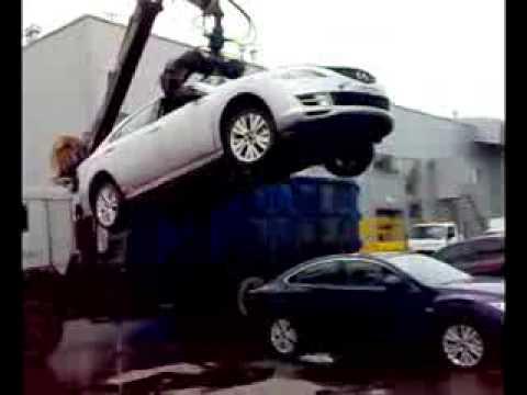 Эвакуация-утилизация практически новых авто...Полный пизд..ц!!!