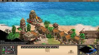 Age Of Empires 2 HD Gajah Mada Campaign 5. The Pasunda Bubat Tragedy (using Persian Elephants)