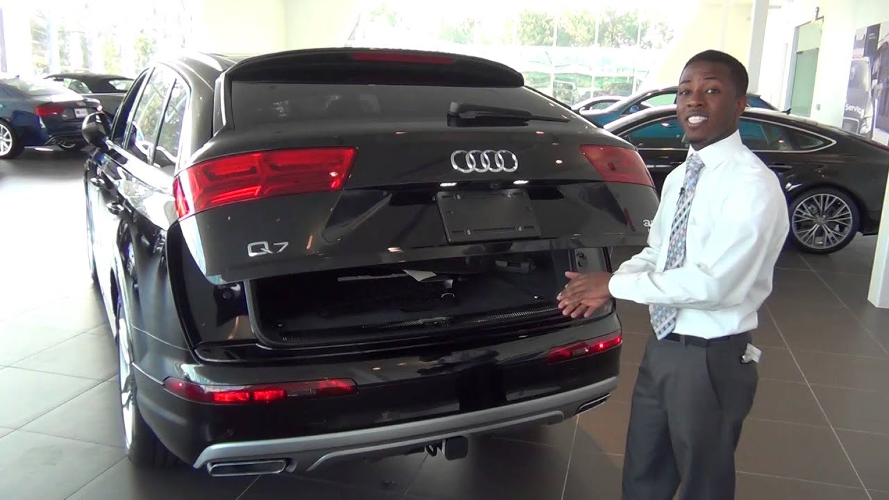 2017 audi q7 walkaround - d'mani smith, audi south orlando - youtube