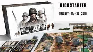 Company of Heroes Board Game KickStarter Teaser