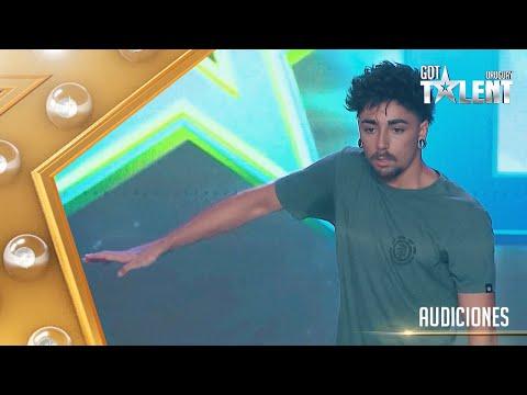 EMILIANO mostró su talento bailando ANIMATION DANCE
