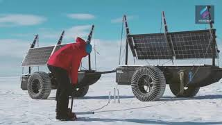 Exploring Antarctica In A Solar-Powered Vehicle Made From Waste Plastic!!