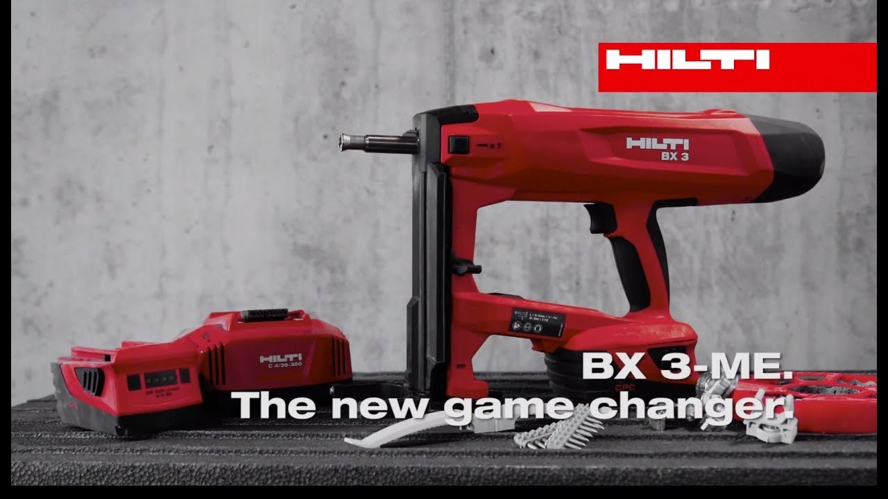 Hilti BX 3 Cordless fastening tool - The game changer - YouTube