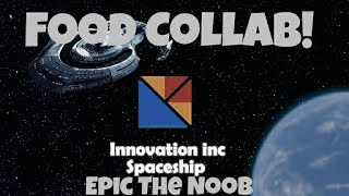Innovation Inc Spaceship Collab! | Trying Every Food Item! | Roblox