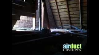 Air Duct CLeaners- Insulation Removal