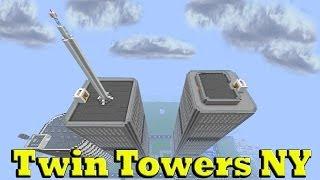 Minecraft Twin Towers NY