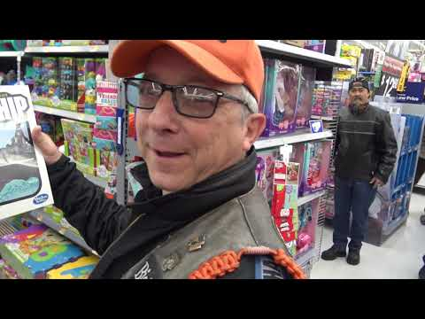 Clint August - 14th  Toy Store Invasion To Rady Children's Hospital. Clint's Ride Club