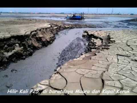 30 Agustus 2013, Postur Lusi mud volcano di barat Dome,