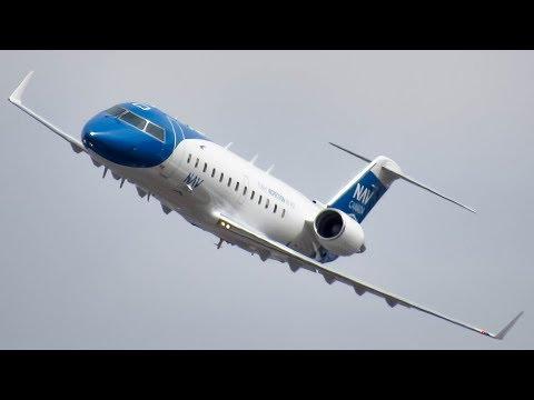 *New Livery!* Nav Canada Bombardier CRJ-200 (CRJ2) 24L LOC Testing In Montreal (YUL/CYUL)