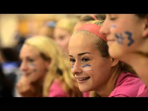 Fall Sports Pep Rally at Lauralton Hall 2015