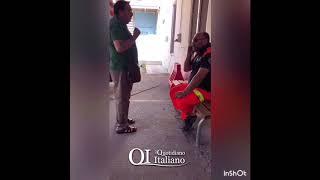 Gravina, ambulanza 118 bloccata: portinaio minaccia di morte medico 118