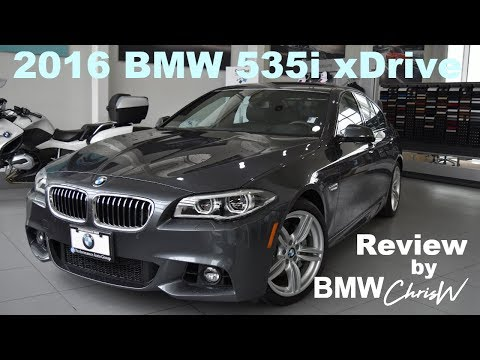 2016 BMW 535i XDrive M Sport - Full Review Presentation With BMW ChrisW