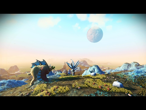 No Mans Sky - The loneliness of a long distance space traveller - Beyond 1000 hours [PS4 PRO]