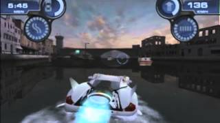 First Level of Spyhunter (GameCube version)