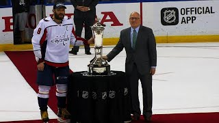 Ovechkin, Capitals accept Prince of Wales Trophy