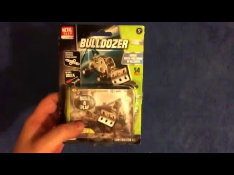 Metal tech bulldozer unboxing