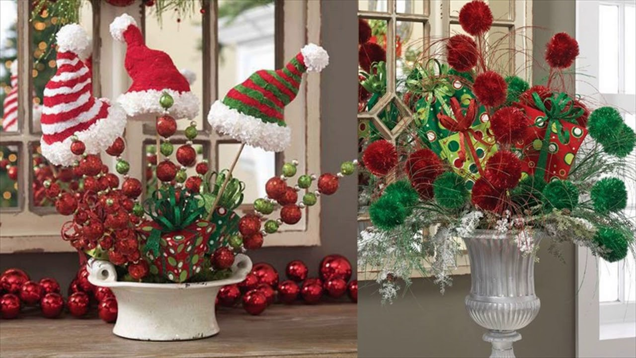 Cheap christmas decorations youtube for Cheap christmas decoration ideas