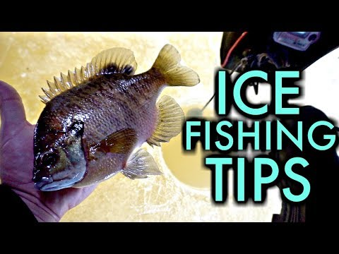 Ice Fishing 101: Best Beginner Rod/Reel/Line/Bait & Safety Tips