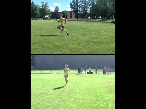 Aaron Kinsella Running form