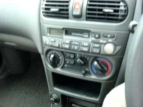 NISSAN SUNNY EX SALOON Manual - carsfortheworld.com video ...