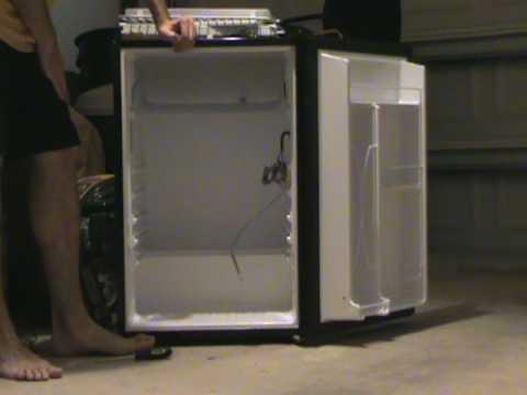 Keg Fridge Conversion Kit Bending Freezer Tray.MPG - YouTube