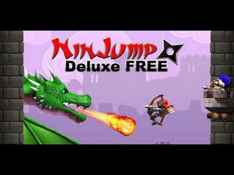 NIN JUMP DELUXE GAMEPLAY