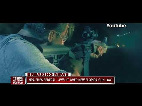 NRA files lawsuit over Florida legislation that raises age to buy guns to 21