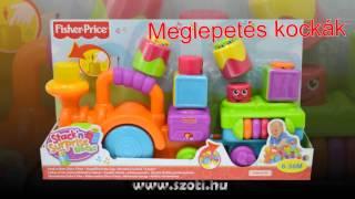 Fisher Price készségfejlesztő játékok - www.szoti.hu