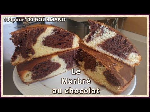 recette-du-gâteau-marbré-au-chocolat