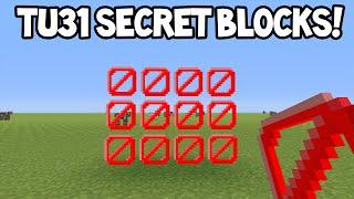 Minecraft (Xbox360/PS3) - TU31 Update! - SECRET BLOCKS!