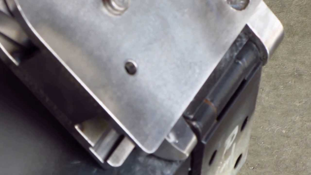 Vw Hinge Pin Removal Tool Youtube