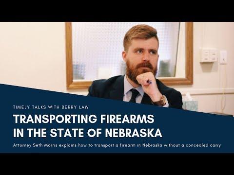 Transporting Firearms in Nebraska   Nebraska Gun Lawyers