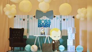 The Boss Baby themed party by Party Dish- Event Styling