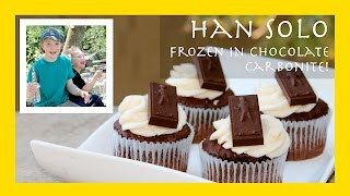 Han Solo Frozen In Carbonite! Chocolate Carbonite! (a Fun Star Wars Candy Recipe)