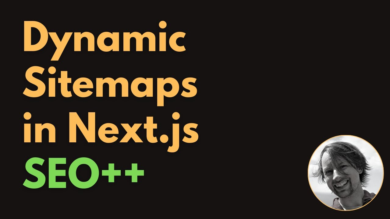 Improving SEO with (Dynamic) Sitemaps in Next.js
