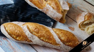 No knead Baguettes - Brote ohne kneten - Back Academy neuer Kurs