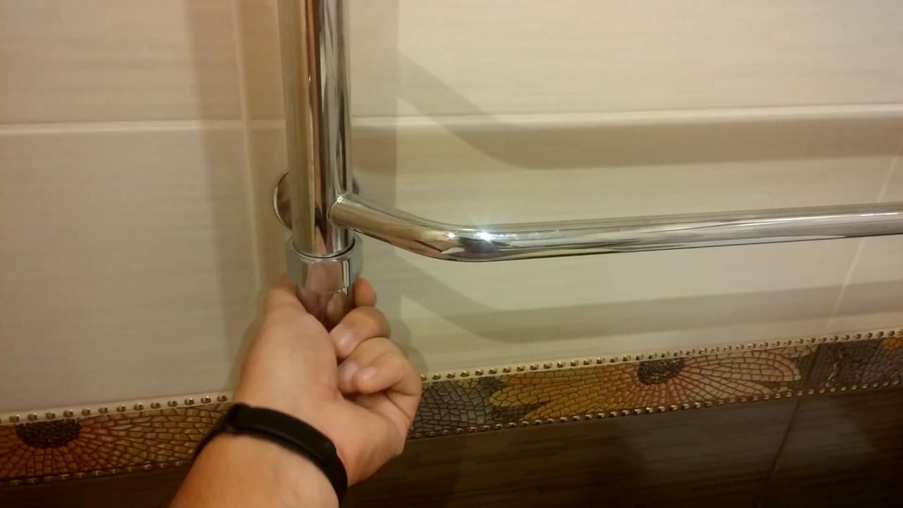 Почему не греет полотенцесушитель