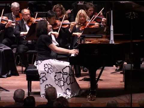 Marietta Petkova plays Chopin Piano Concerto 2 with NNO/Tabachnik