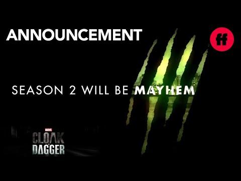Marvel's Cloak & Dagger   San Diego Comic Con 2018: Season 2 Announcement   Freeform