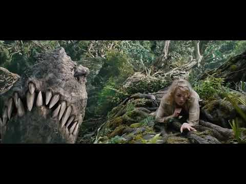 KING KONG VS DINOSAURS FIGHT SCENE