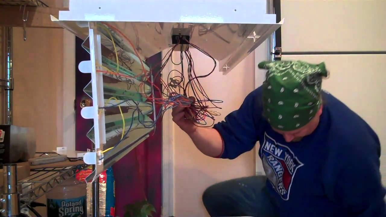 Installing A T5 Fixture Youtube Electrical Wiring Diagrams Aquaticlife Ho