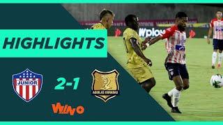 Junior vs. Águilas Doradas (Goles y Highlights) Liga BetPlay Dimayor 2020 | Fecha 9
