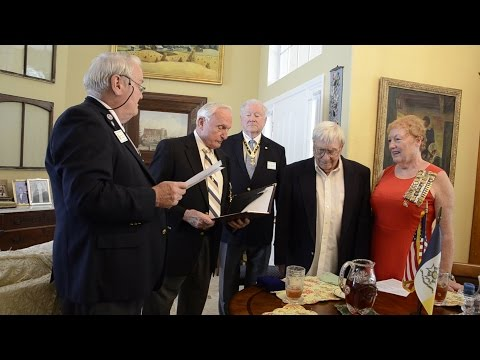 Sons Of The American Revolution Induct New Member