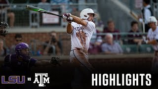 Baseball: Highlights | A&M 9, LSU 2